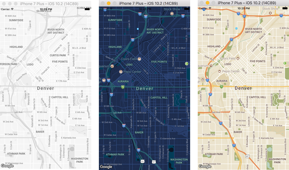 React Native Google Map With Reactnativemaps Codeburst - Google maps to and from