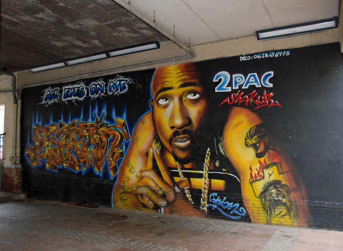 Tupac tribute murals and graffiti from around the world for 2pac mural new york
