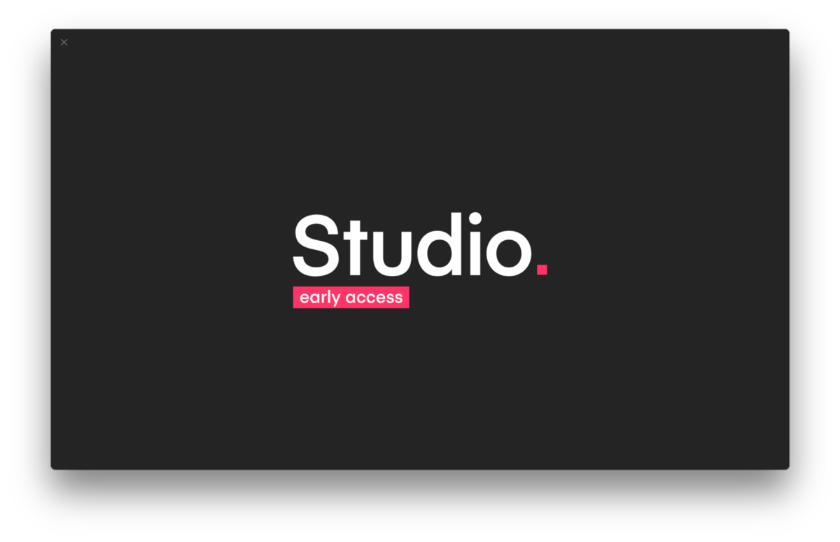 Getting started + simple animation with InVision Studio