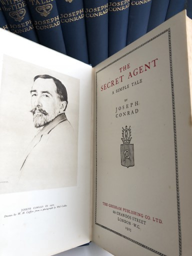 Joseph Conrad And A Visit To Forum Auctions In London