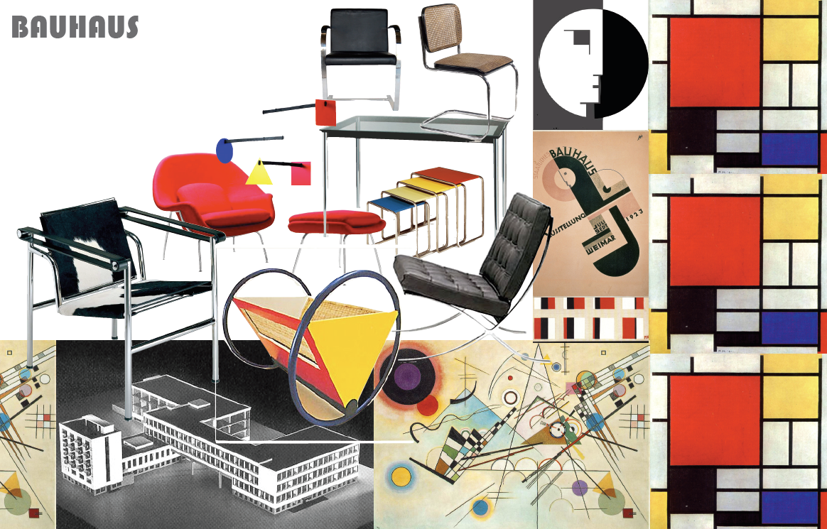 bauhaus history of design The history of the bauhaus the legacy of which continues to influence the bauhaus-university weimar important chapter as a college of art and design.