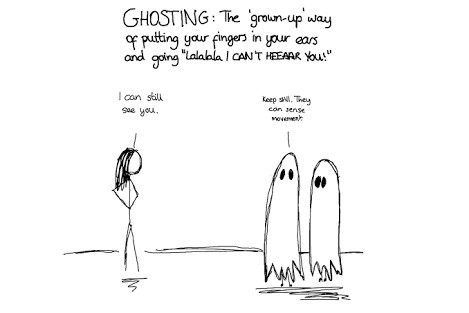 Ghost online dating