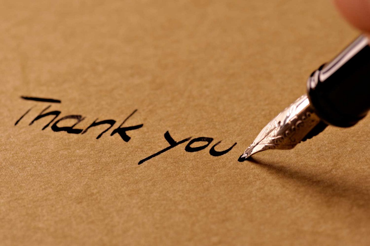 The Joy Of Thank You Note Writing Chair Pen Musings