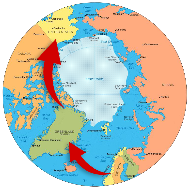 learning firsthand about challenges and opportunities in the arctic region