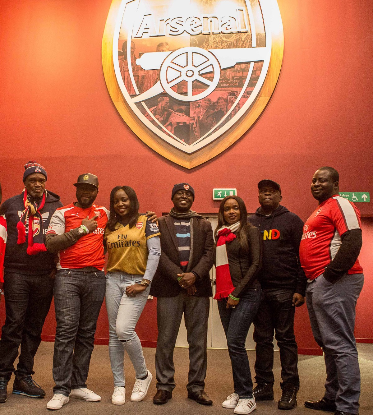 From Dream to Reality — Seven MTN Customers Watch Arsenal live In London