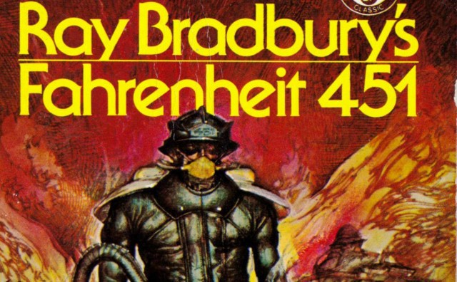 dystopian society in fahrenheit 451 Fahrenheit 451 is a dystopian society to demonstrate that change makes a terrible place, that it would be better off the way it was before things were changed.