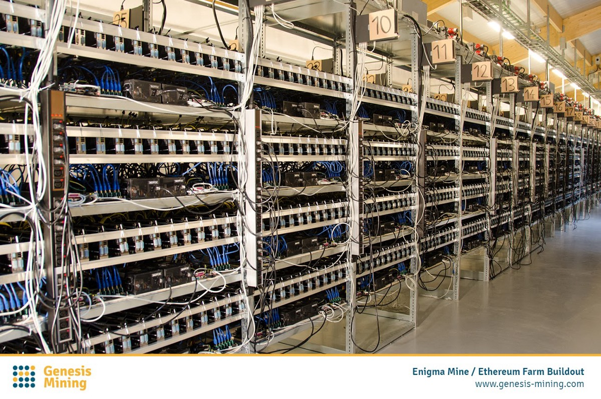 A Snapshot Of Large Scale Cryptocurrency Mining Facility Genesis