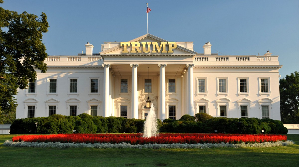 American white house inside pictures