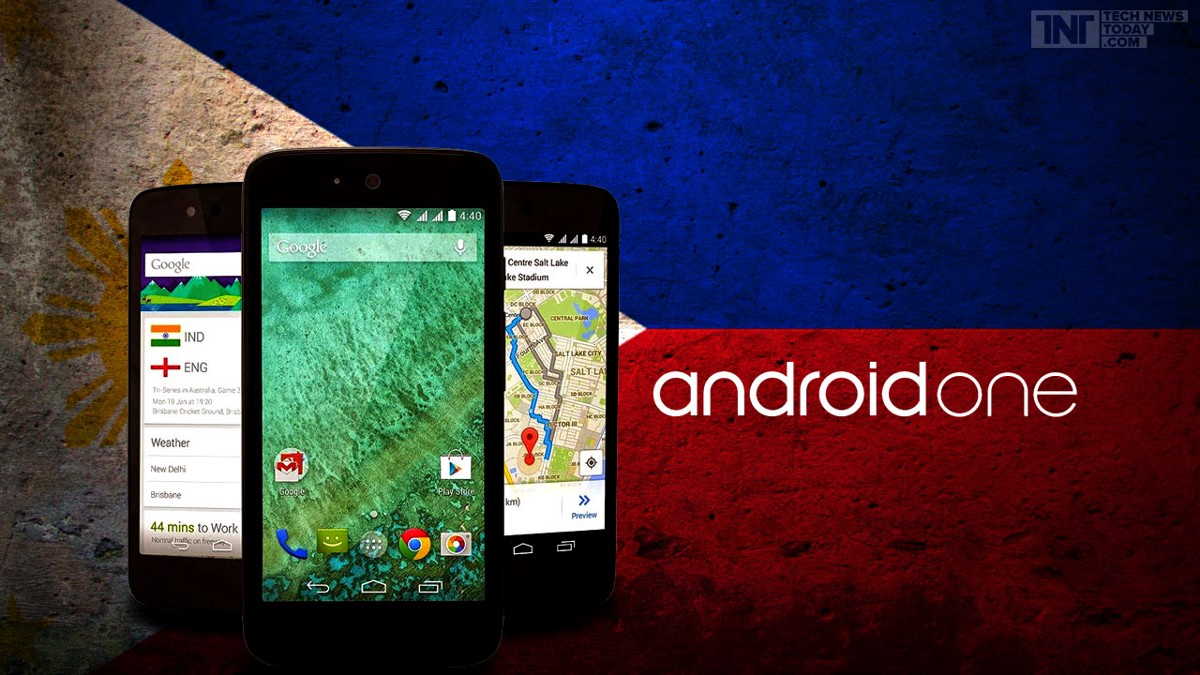 Examples of Android One smartphones