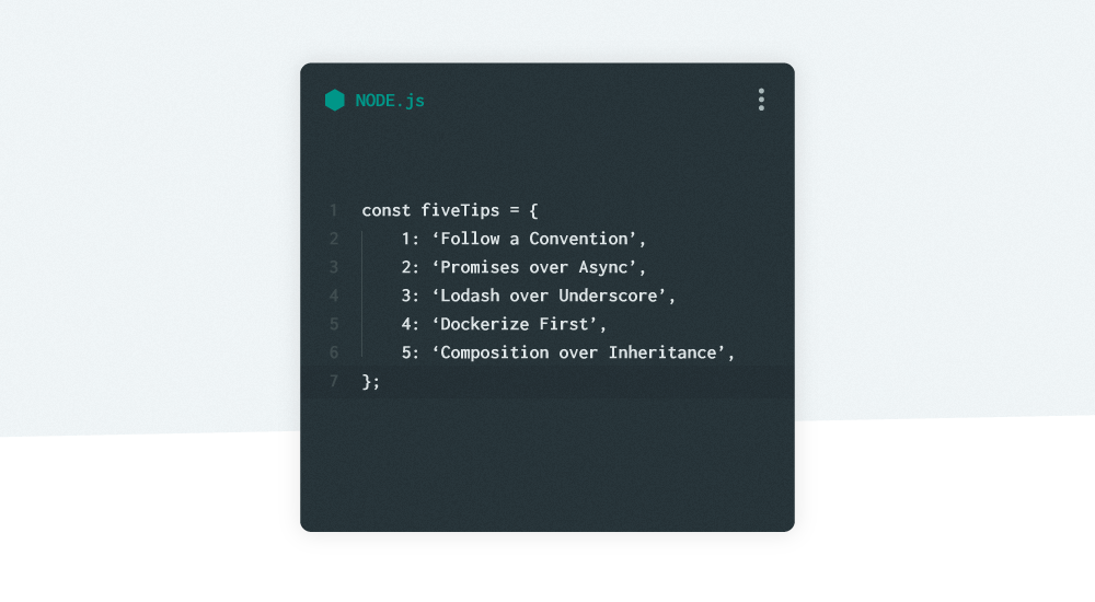 Five tips I enjoyed while learning Node js – Building Lang ai