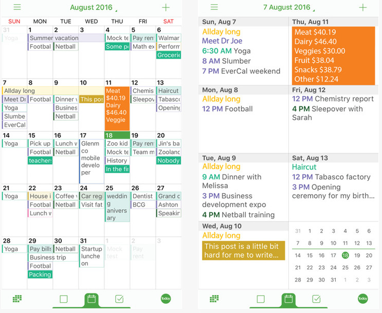 Evercal Family Organizer Is One Of The Most Helpful Productivity And Scheduling S On