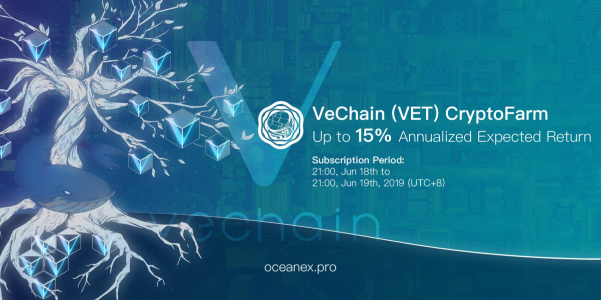Hold for Billionaire — Join VET CryptoFarm to Win Up to 15% Annualized Expected Return