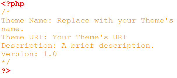 Creating a wordpress theme from static html: creating template files.