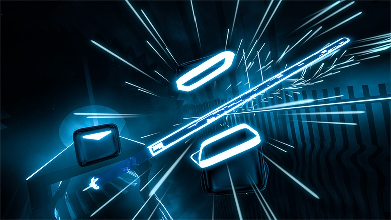 b39382d2e4e1 Beat Saber had no noticeable downsides in hand tracking on Quest when  compared to the HTC Vive