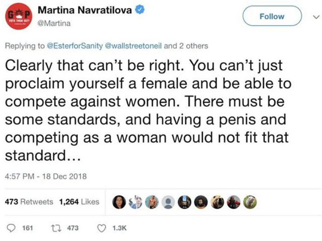 a woman with standards