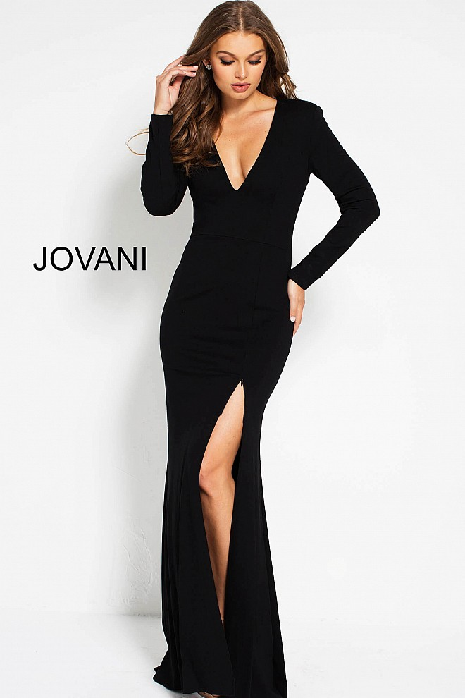 2dcc59469e1 Long Sleeve Prom Dresses  2019 Trend – Jovani Fashions – Medium