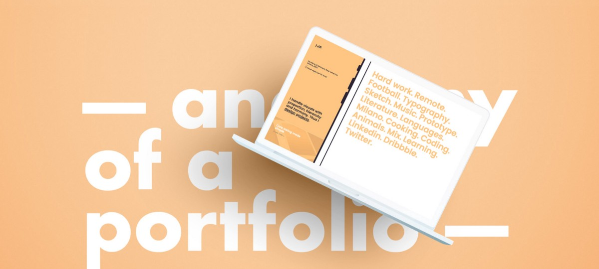 The anatomy of a portfolio