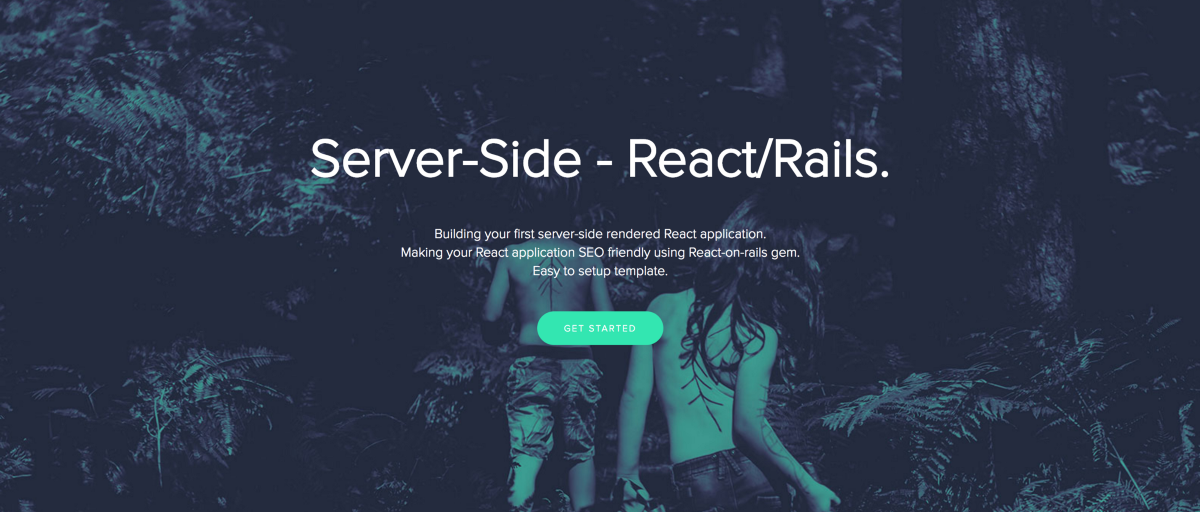 Build your first server-side rendered React app with Rails