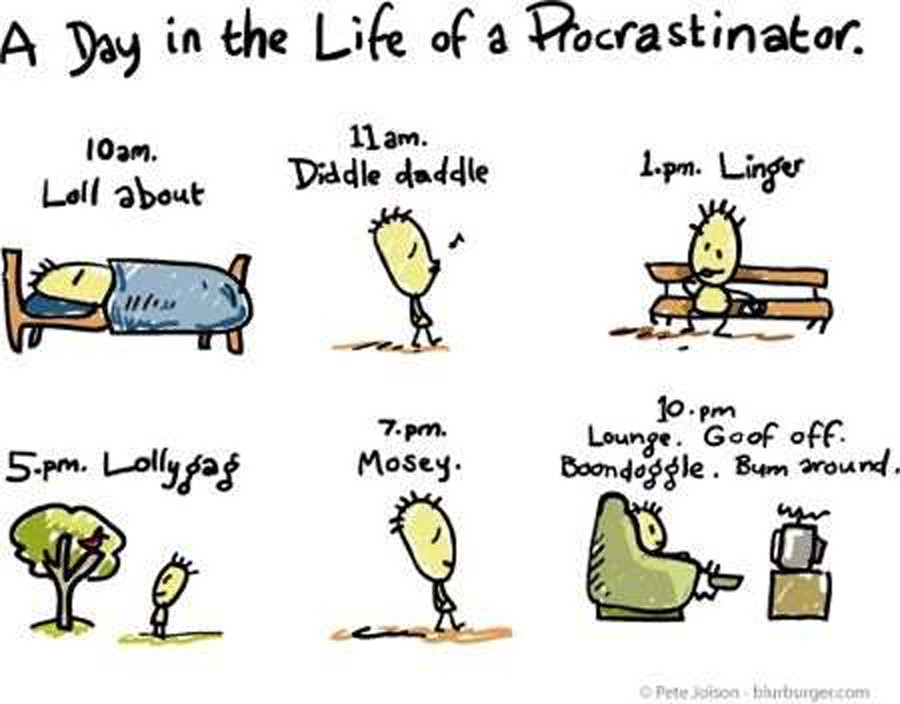a research on the behavior of procrastination Research also suggests that anxiety and these results align well with models of procrastination that examine procrastination behavior from a temporal.