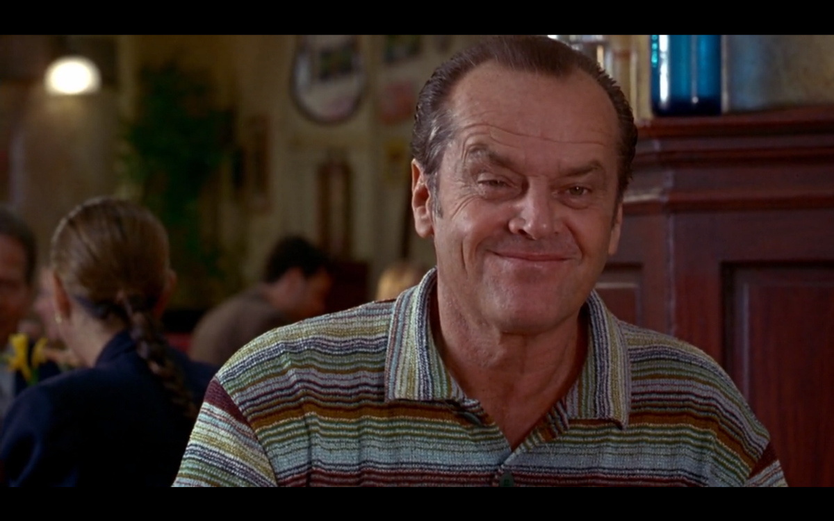 psychological concepts in the movie as good as it gets In as good as it gets, jack nicholson plays melvin, a hostile, reclusive, obsessive-compulsive romance writer who lives his life eating with plastic flatware, avoiding stepping on cracks, and steering clear of dirt, human contact, or disorder.