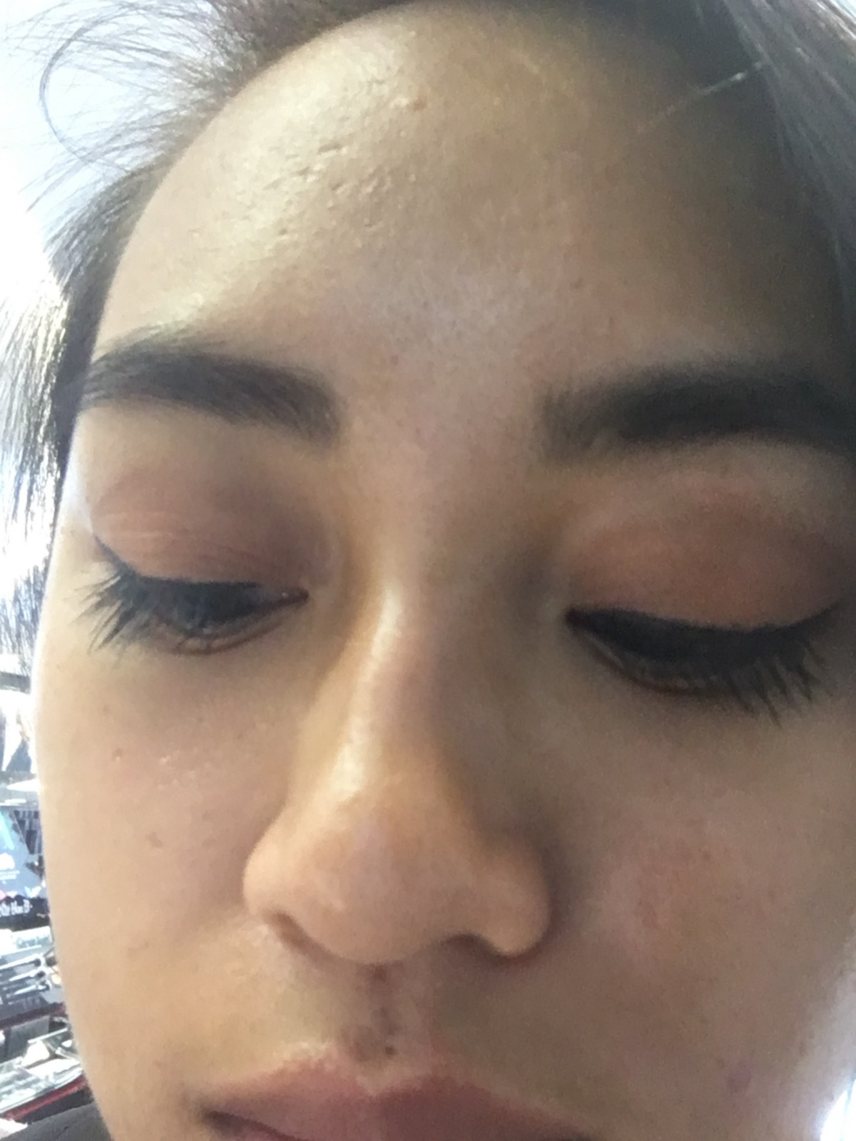 As said in Clueless, my eye makeup is a full-on Monet: From far away it's okay, but up close it's a big ol' mess.
