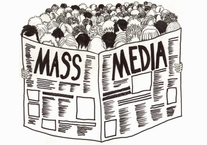 mass media in society This study investigates the effects of us mass media on three major dimensions  of thai society: life-styles, social problems, and value conflict one hundred.