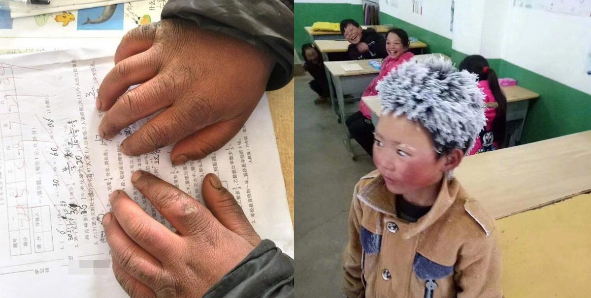 'Ice boy' moves hearts online after walking 4.5 km to school in freezing temperatures