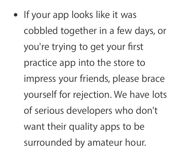 App Store Changes The Importance Of Developer Experience