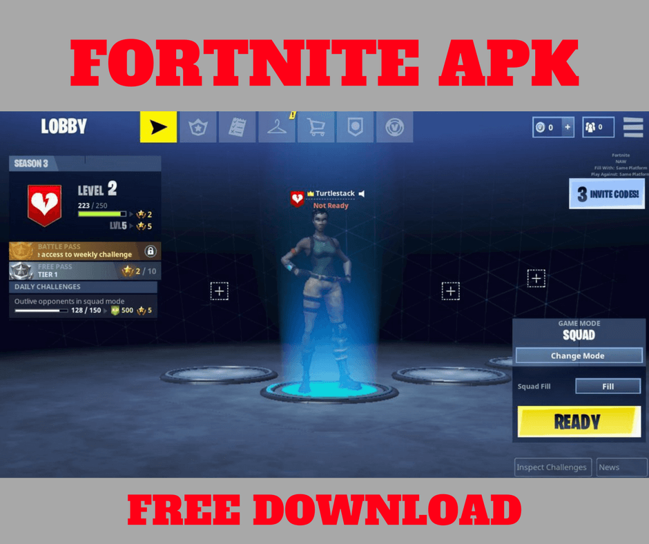 fortnite apk for android free