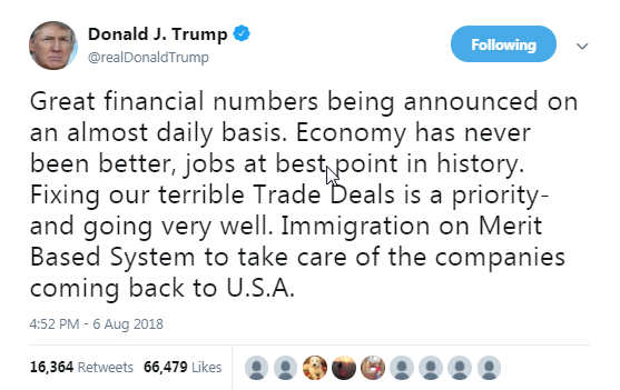Image result for trump and the economy