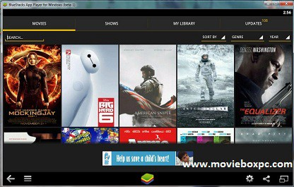 cinema hd download for pc