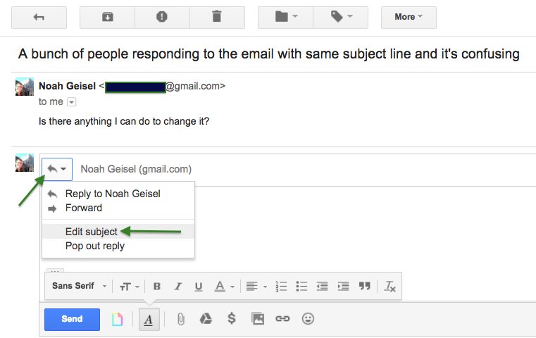 google gmail change picture