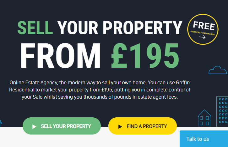 Online Estate Agent Griffin Residential Is One Of The Rare Breeds Traditional Agents Who Have Successfully Transitioned To New