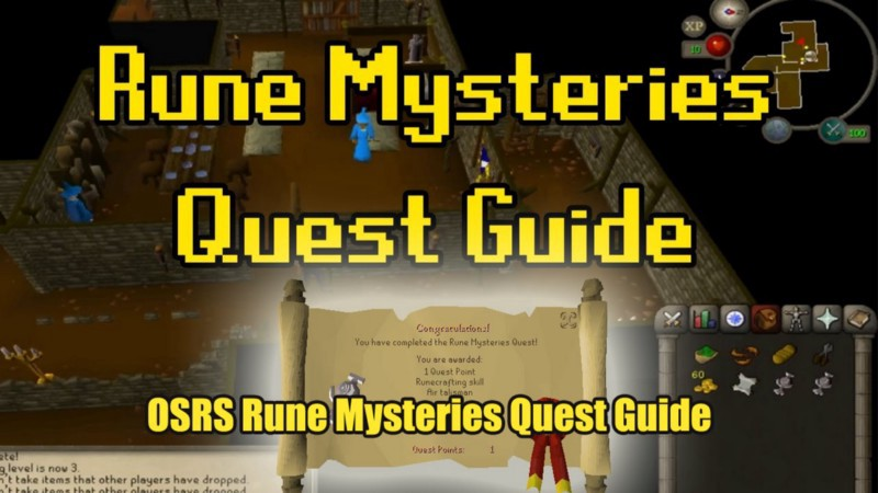 OldSchool Runescape (OSRS) Rune Mysteries Quest   Food4RS