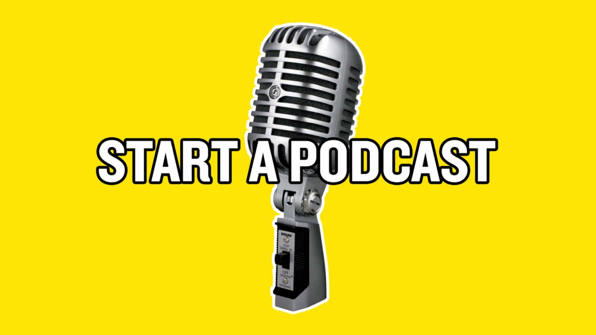 how to start a podcast reddit