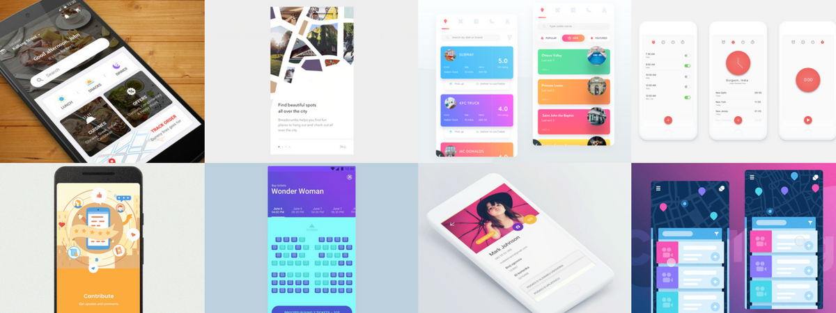 another month another material design blast this june the uplabs community kept growing and sharing excellent ui designs for android apps