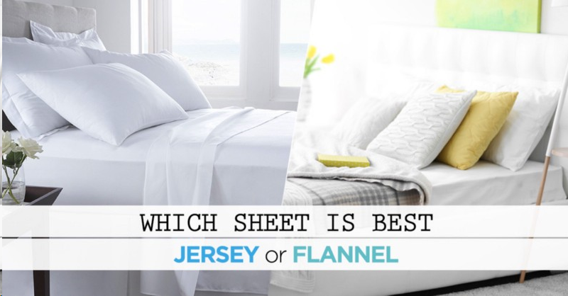 Jersey Sheet Vs Flannel
