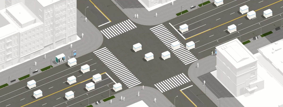 Crossing The Road In The World Of Autonomous Cars Teague