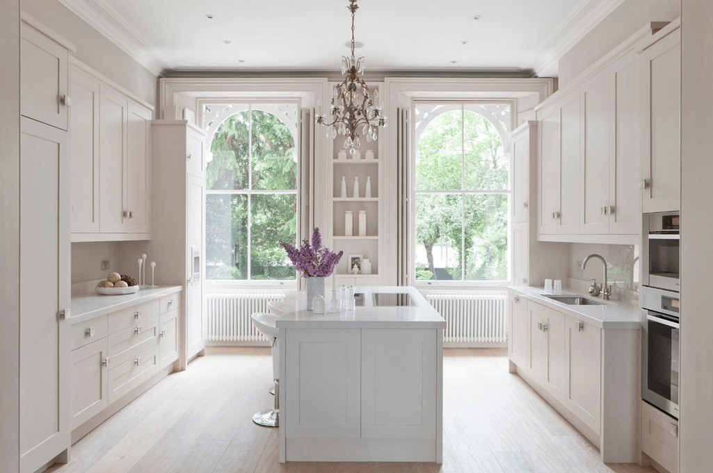 Why Choose Monochromes In Kitchen Cabinets ? – Cabinet DIY ...