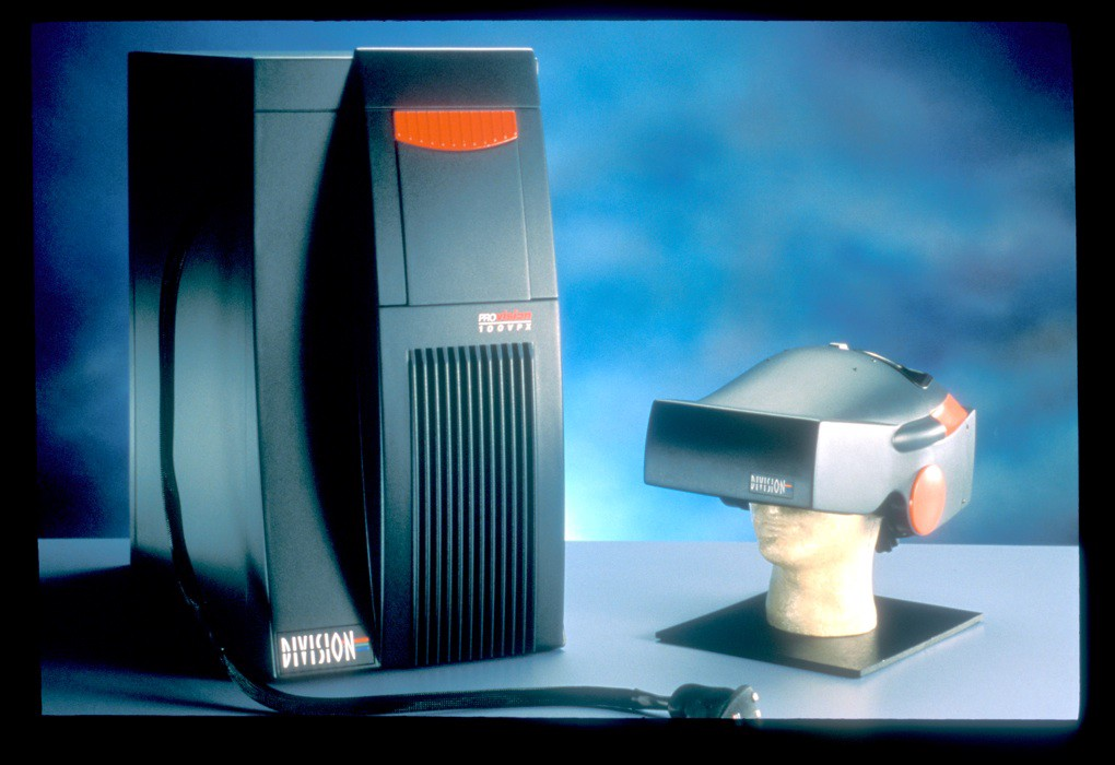 Division Pro-vision 100VPX virtual reality system (Ben Delaney)