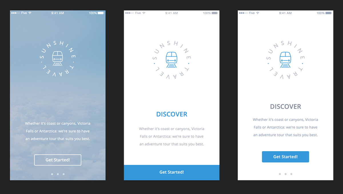 Wander – Prototyping: From UX to Front End