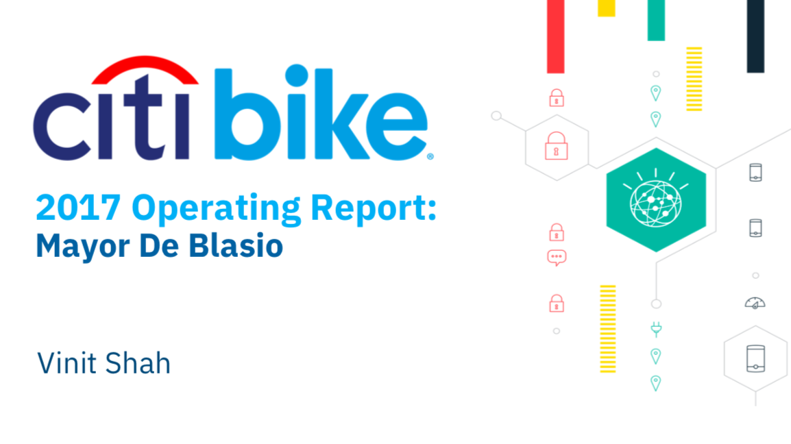 50f97f96d4a The goal of this analysis is to create an operating report of Citi Bike for  the year of 2017. The following work was completed in less than five  working ...
