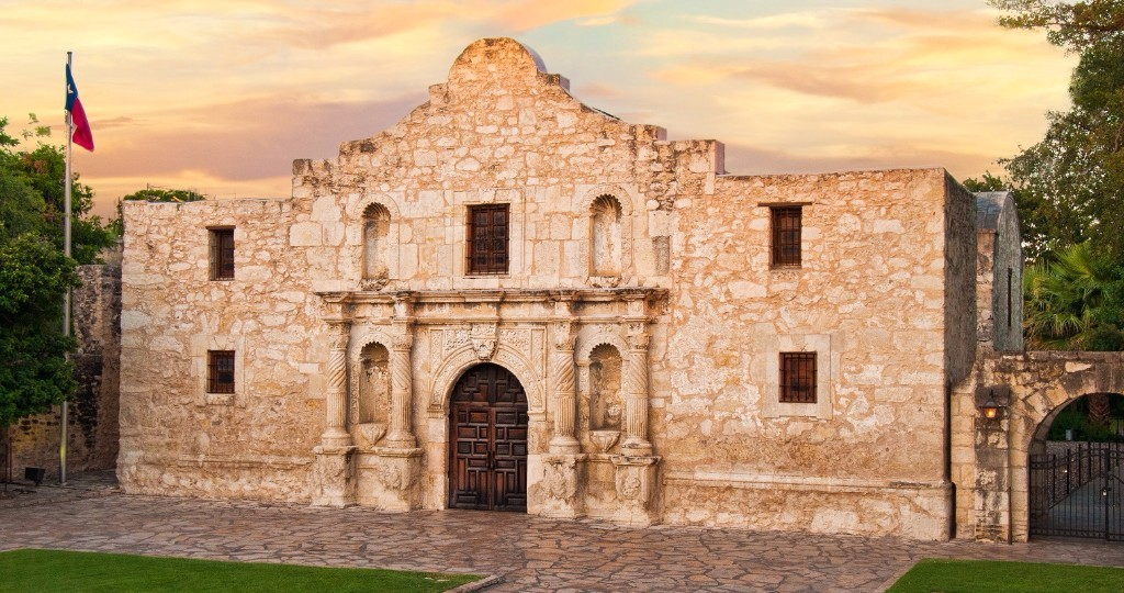 San Antonio And The Alamo In The Mexican War Of Independence