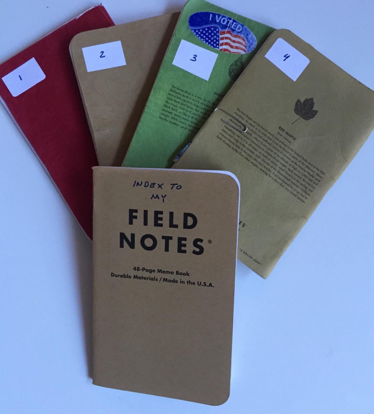 getting meta field notes jamie todd rubin writer this makes it a little easier to a particular item if i am leafing through the old notebooks if i know the general date range i know which notebook