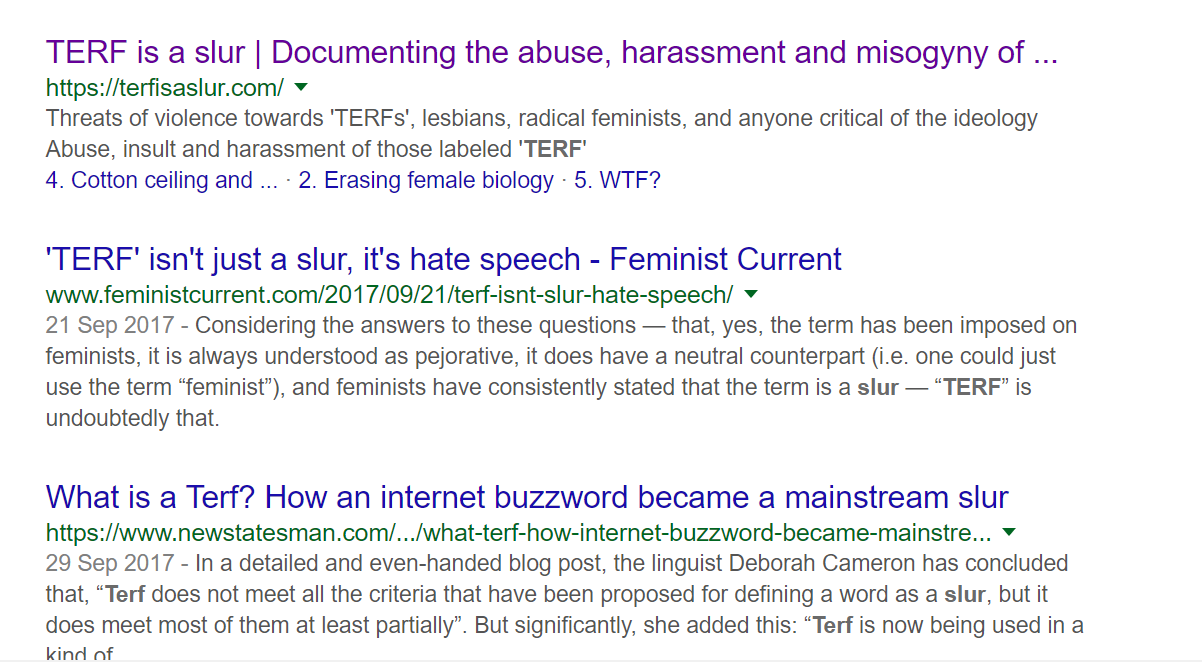 10 Terf Arguments That Need To Stop Cursed E Medium
