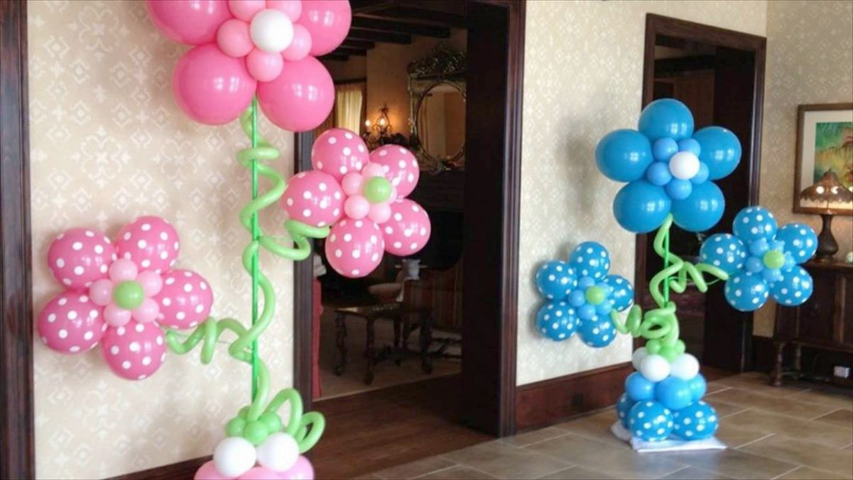 Balloon Decoration Ideas For Birthday Parties Swetha Medium