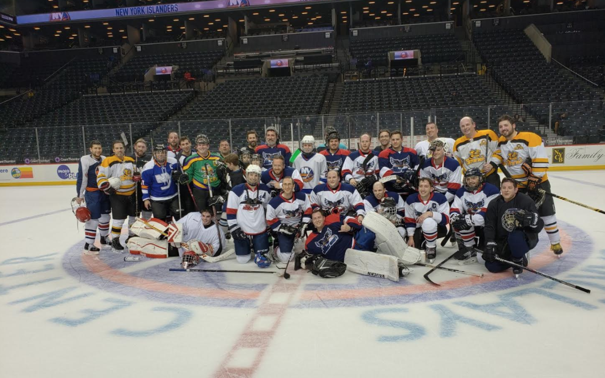Scrimmage or NHL game? It's hard to tell. Photo Provided by Gabriel  Jacobson.