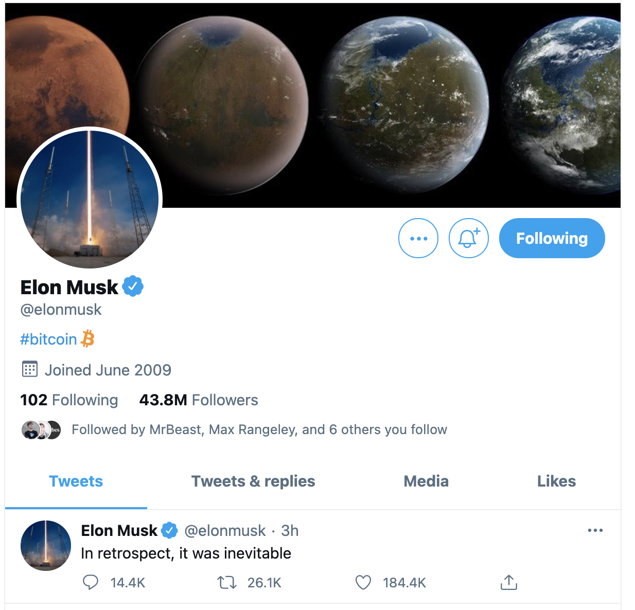 Elon Musk Buys Bitcoin!!! Get Ready for Mars — The Elon effect
