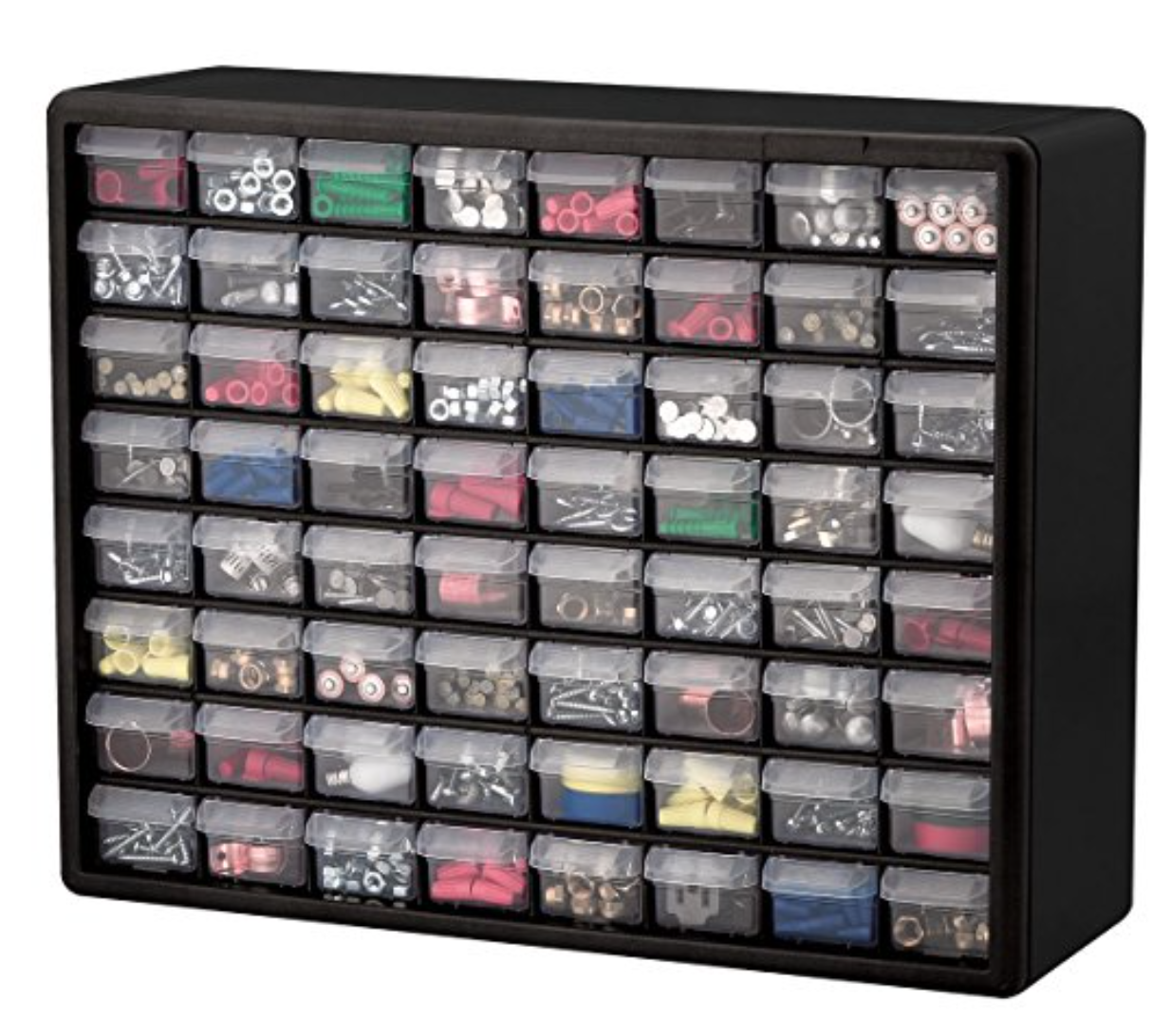 Something Like The Akro Mils   Drawer Plastic Parts Storage Hardware And Craft Cabinet  Inch By  Inch By  Inch