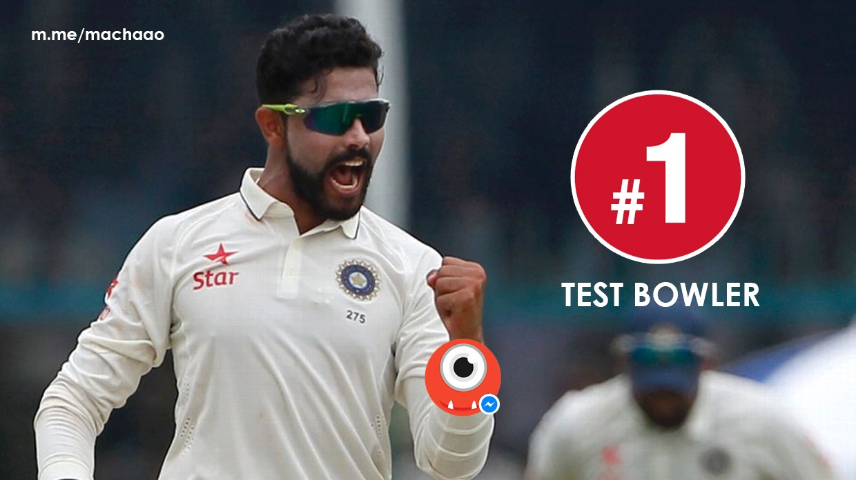 Ravindra Jadeja Displaces R Ashwin To Be World No 1 Bowler In ICC Test Cricket Rankings